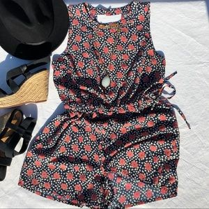 Urban Outfitters Adorable Floral Romper size M